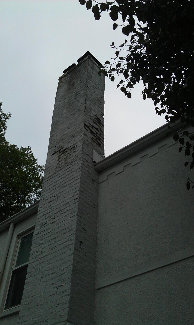 Crumbling 40 ft Chimney
