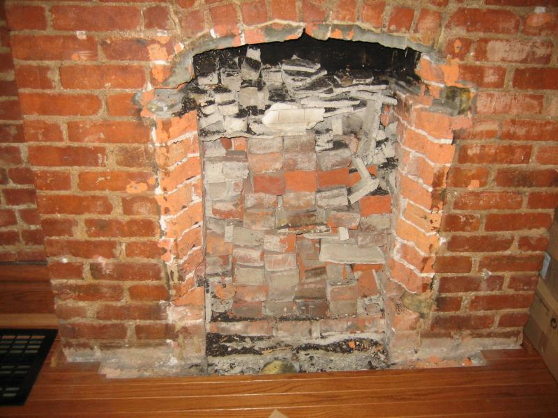 Fireplace Disaster